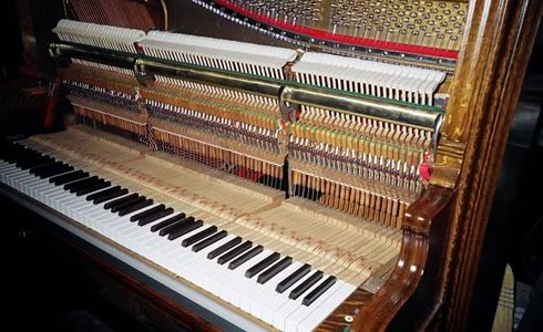 Upright Piano Rebuild